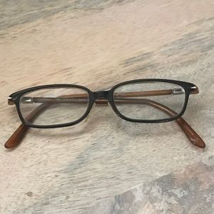 Gucci black and brown glasses